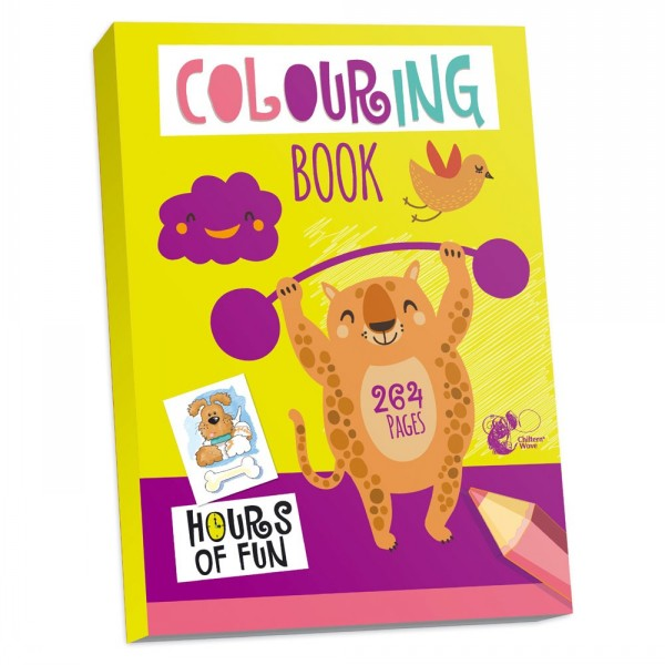 Really Big Colouring Book