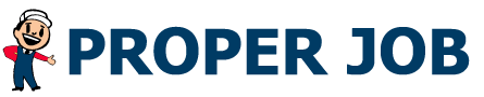 Proper Job Logo